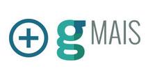 logotipo do g-mais consultoria para grandes redes de negócio